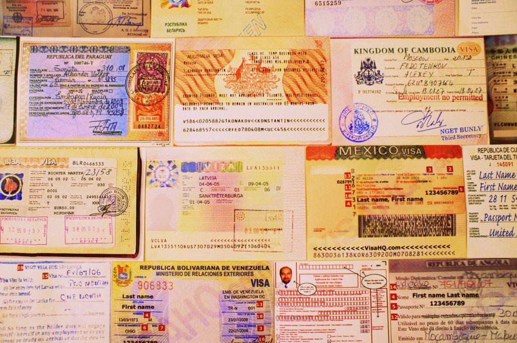 [SLK-TOUR] Заявка на получение визы,